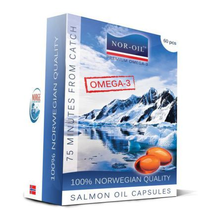 Europepharma Nor-oil omega 3 normal cps.60