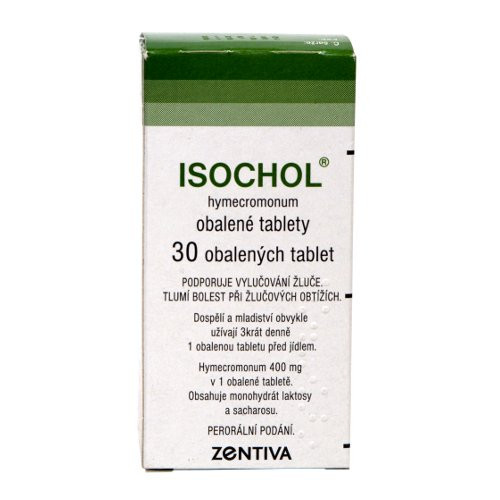 Isochol 400 mg 30 tablet