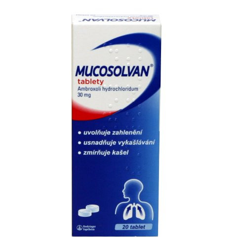 MUCOSOLVAN 30 mg 20 tablet