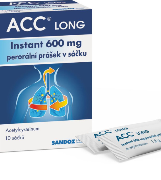 ACC LONG Instant 600 mg 10 sáčků