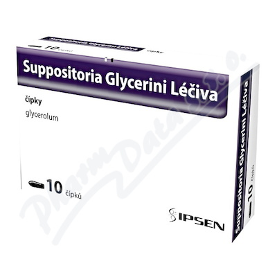 SUPPOSITORIA GLYCERINI LÉČIVA 2