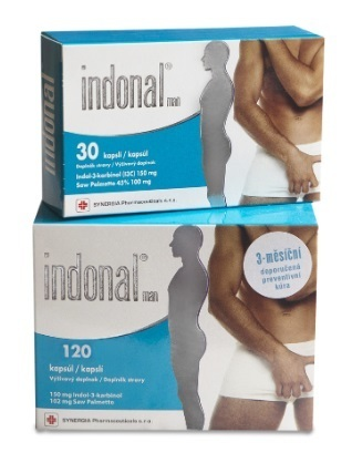 Indonal Man cps.120 + Indonal Man cps.30 zdarma