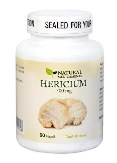 Natural Medicaments Hericium 500mg cps.90