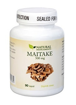 Natural Medicaments Maitake 500 mg cps.90