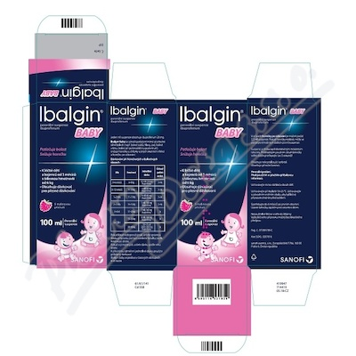 IBALGIN BABY 100MG/5ML perorální SUS 100ML