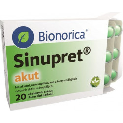 Sinupret akut 20 tablet