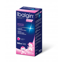 Ibalgin Baby 100mg/5ml suspenze 100 ml