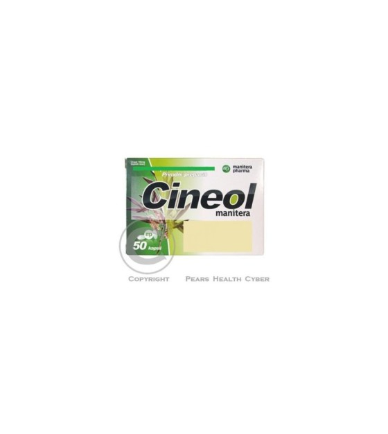 Cineol manitera 100mg cps.50