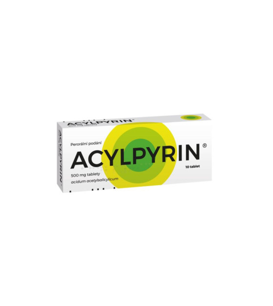ACYLPYRIN tablety 10 x 500 mg