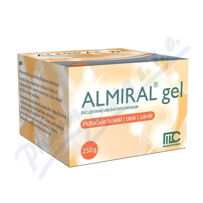 ALMIRAL 10MG/G gely 250G