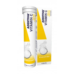 Additiva Vitamin C Zitrone 20 šumivých tablet