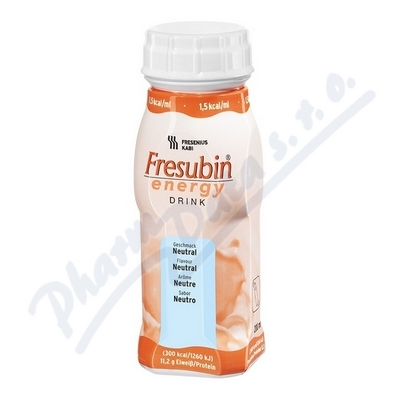 FRESUBIN ENERGY DRINK NEUTRAL perorální SOL 4X200ML