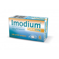 Imodium Rapid 2 mg 6 tablet