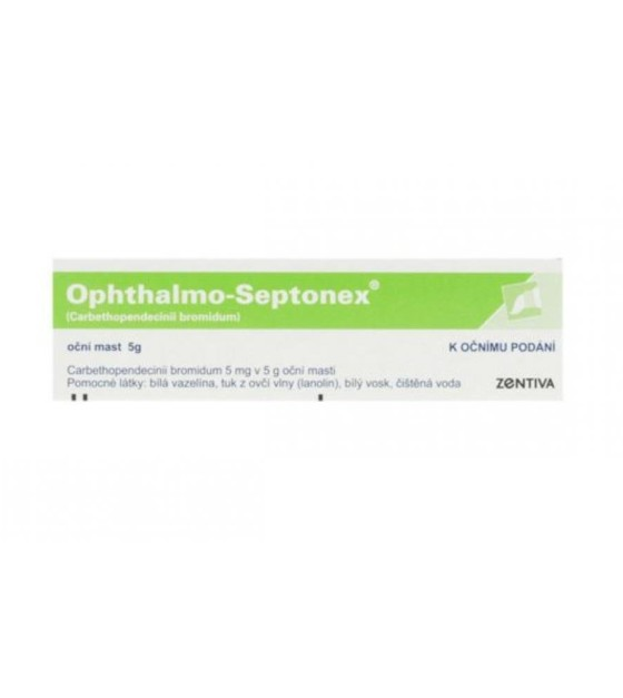 OPHTHALMO-SEPTONEX  1X5GM/5MG Oční mast