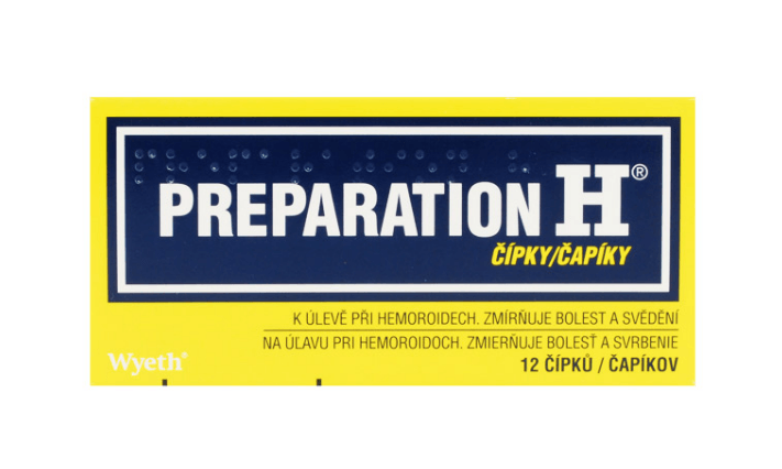PREPARATION H 23MG/69MG čípek 12
