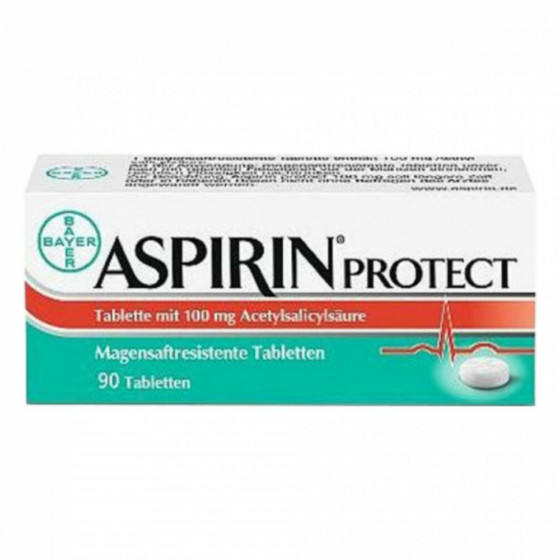 ASPIRIN Protect 100 mg 98 tablet