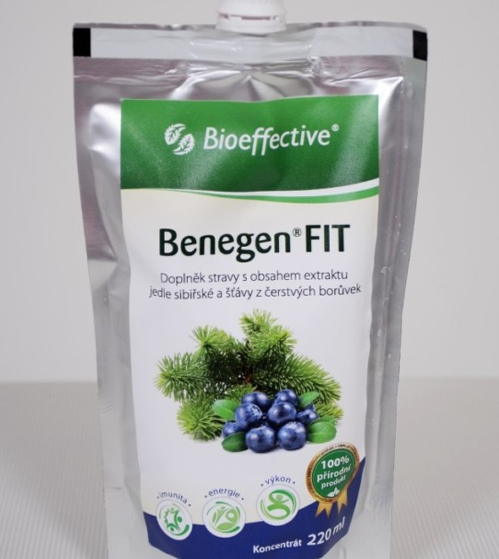 Benegen Fit borůvka 220ml