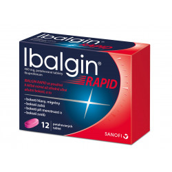 Ibalgin Rapid 400 mg 12 tablet
