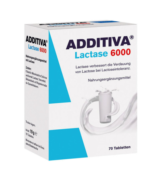 Additiva Lactase 6000 70 tablet