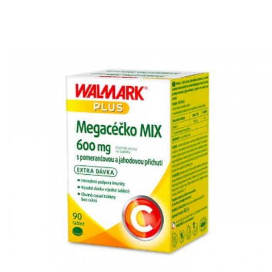 WALMARK Megacéčko Mix Vitamín C 600mg 90 tablet