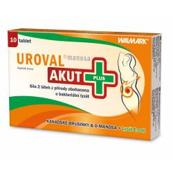 Uroval Manosa AKUT Plus 10 tablet