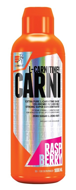EXTRIFIT Carni 120000 Liquid 1000ml Raspberry