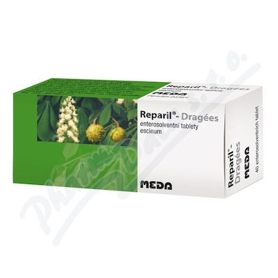 REPARIL- DRAGÉES 20MG enterosolventní tableta 40