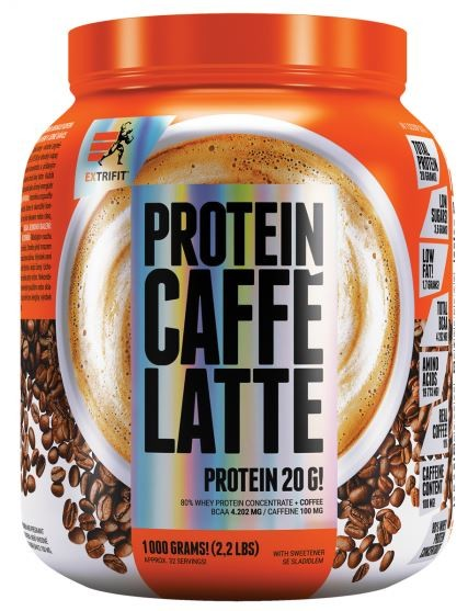 EXTRIFIT Protein Caffe Latte 1000g