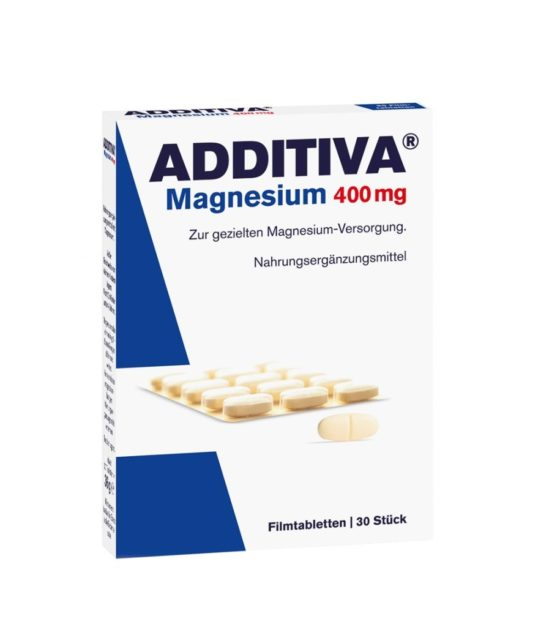 Additiva Magnesium 400 mg 30 tablet