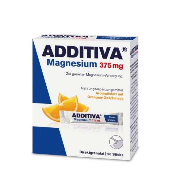 Additiva Magnesium Direct 375 mg pomeranč 20 sáčků