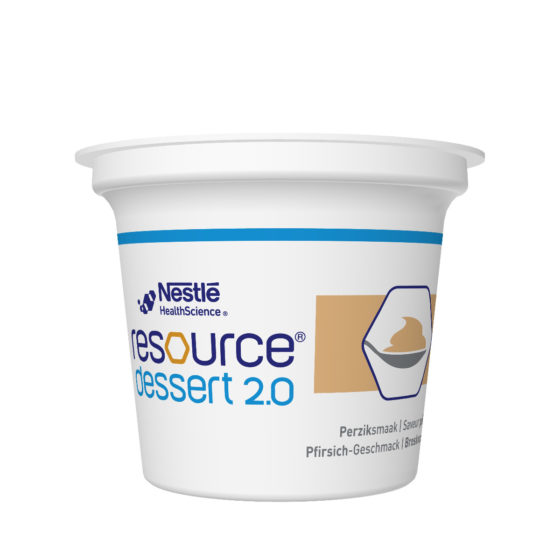 RESOURCE® Dessert 2.0 broskev 4x125 g