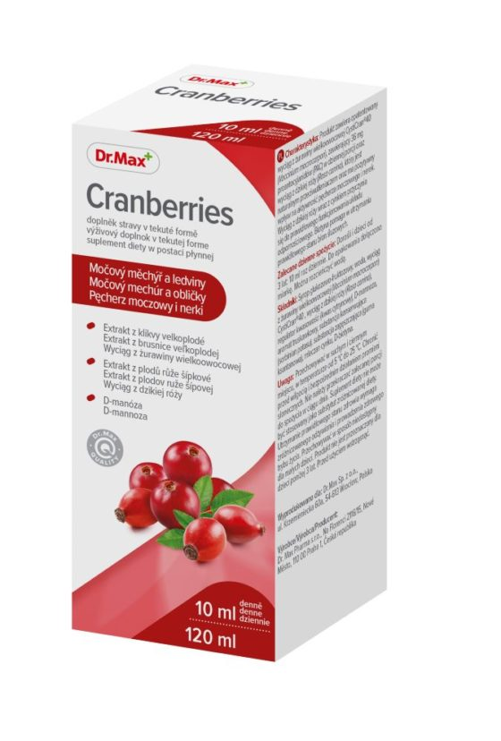 Dr.Max Cranberries 120 ml