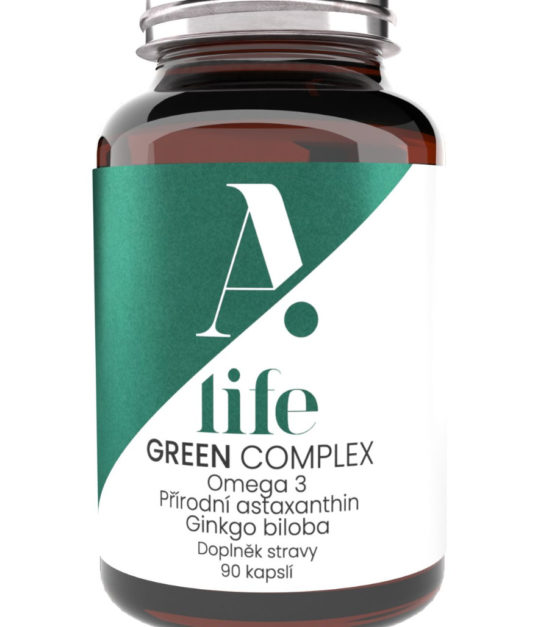 Alife Beauty and Nutrition Green Complex 90 kapslí