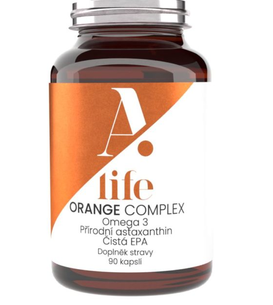 Alife Beauty and Nutrition Orange Complex 90 kapslí