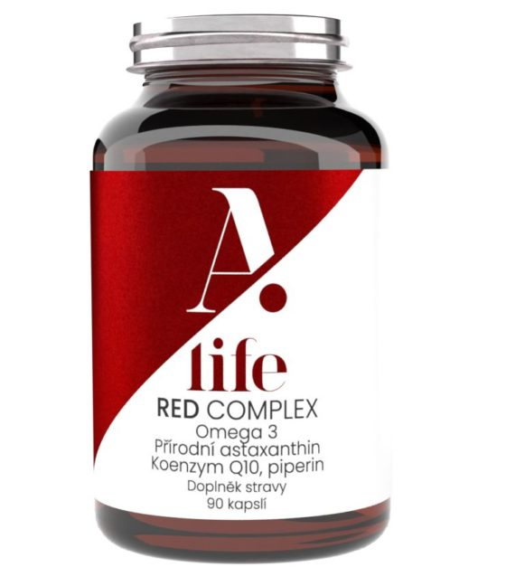 Alife Beauty and Nutrition Red Complex 90 kapslí