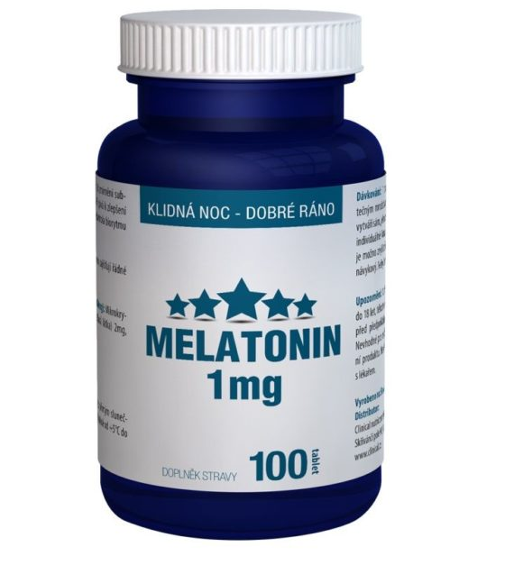 Clinical Melatonin 1 mg 100 tablet