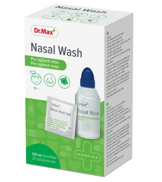 Dr.Max Nasal Wash 120 ml + 20 sáčků