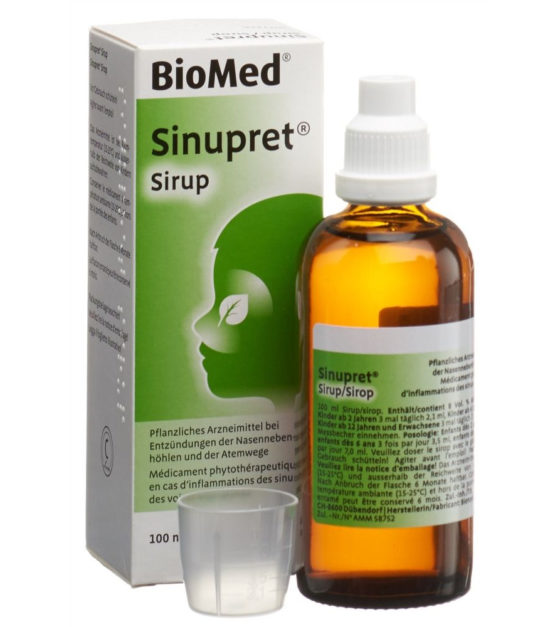 Sinupret sirup 100 ml