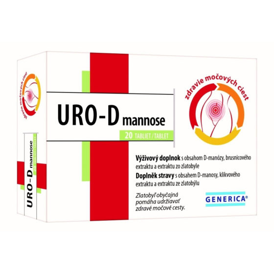 GENERICA URO-D mannose 20 tablet