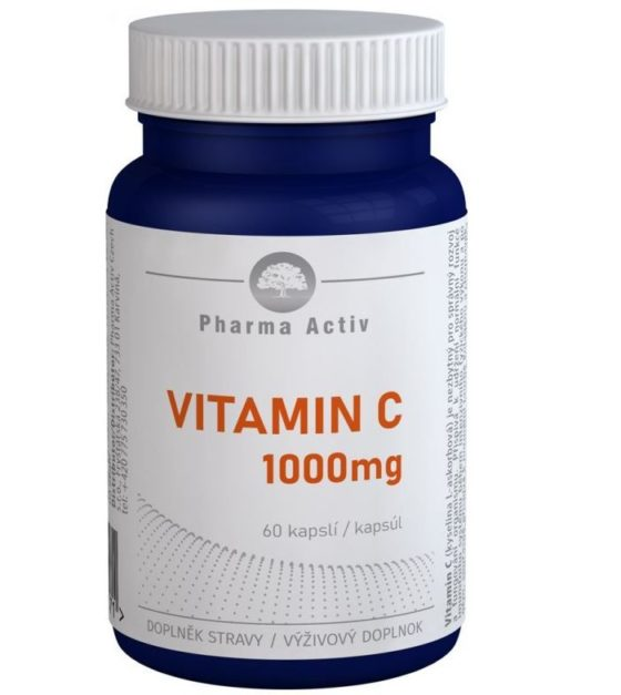 Pharma Activ Vitamin C 1000 mg 60 kapslí