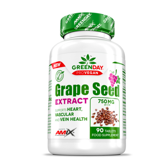 GREENDAY ProVegan Grape seed extract 90 tablet