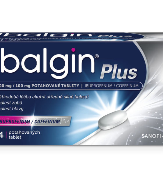 Ibalgin Plus 400 mg/100 mg 24 tablet