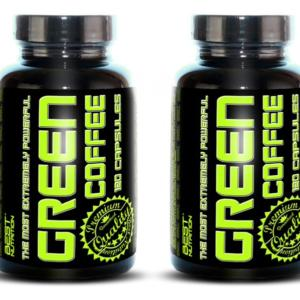 1 + 1 Zdarma: Green Coffee od Best Nutrition 120 kaps. + 120 kaps.