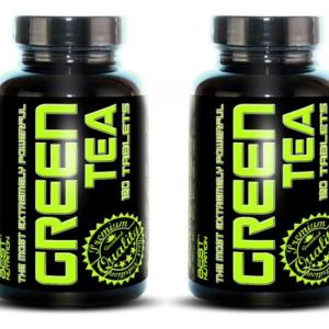 1 + 1 Zdarma: Green Tea od Best Nutrition 120 tbl. + 120 tbl.