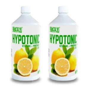 1 + 1 Zdarma: Hypotonic Sport Drink od Best Nutrition 1000ml+1000ml Jahoda