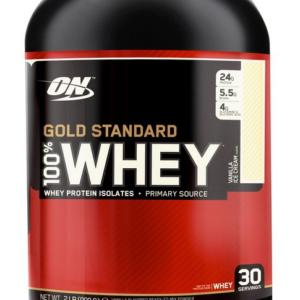 100% Whey Gold Standard Protein - Optimum Nutrition 2270 g Caramel Toffee Fudge