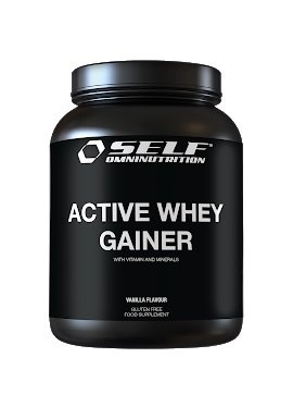 Active Whey Gainer od Self OmniNutrition 2000 g Jahoda