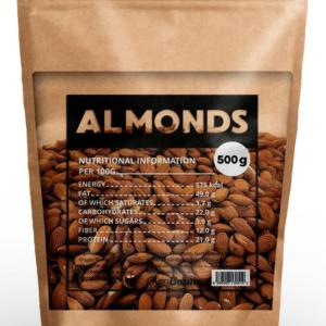 Almonds - GymBeam 500 g