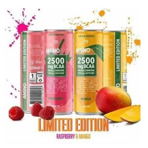 Amino Pro 2500 mg BCAA Drink - FCB Sweden 330 ml. Lime