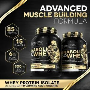 Anabolic Iso Whey - Kevin Levrone 2000 g Strawberry